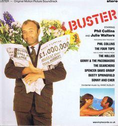 Buster – Original Motion Picture Soundtrack – LP Vinyl Record