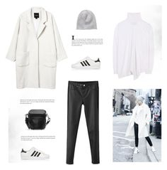 """Get the Look"" by bellamarie ❤ liked on Polyvore featuring Monki, adidas Originals, Zara, STELLA McCARTNEY and Vero Moda"