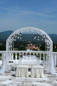 Outdoor Wedding Ceremony!