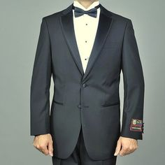 Giorgio Fiorelli Modern Lapel Black Fully lined. 65% Micro Poly, 35% Viscose #GiorgioFiorelli #478151WALTONLapelTuxedo