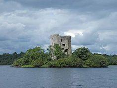 Lough Oughter Castle County Cavan - The Lake County