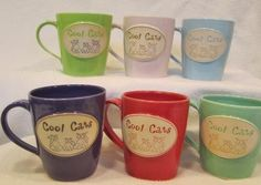handmade pottery mugs - Cool Cat Creations