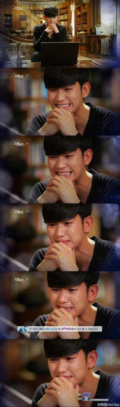 Kim Soo Hyun - My Love from the Star  Yung tipong khit umiiyak na ang gwapo padin!!!! ♥.♥