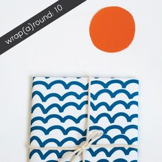 Printable wrapping paper. Jessica Nielsen » wrap(a)round • free download
