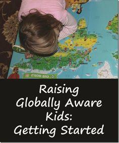 Raising Globally Aware Kids: Getting Started - Mama Smiles