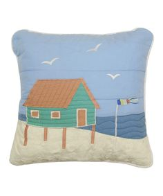 29.99-Beach House Pillow | zulily 15 X 15