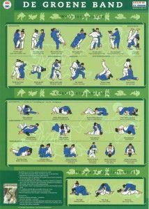 Groene-band /  Judo Technieken