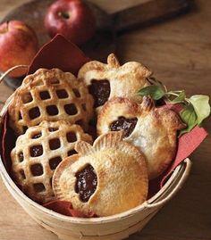 Fall Dessert: Apple Cranberry Mini Pies Recipes