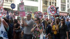 Teachers In Mexico Go On Strike | www.theedadvocate.org #mexico #educationnews