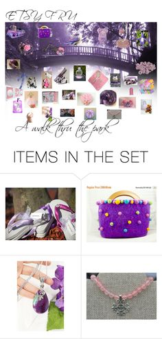 A walk thru the park by stacey-nap on Polyvore featuring картины