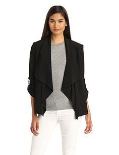BESTSELLER! Calvin Klein Women's Roll-Sleeve Jacket $99.00