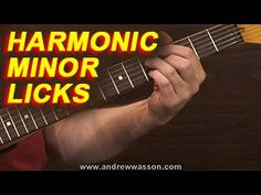 This week on the GuitarBlog I discuss both the application, and the creation of licks from the scale of Harmonic Minor. Even though this scale is simply a Natural Minor Scale with a raised seventh degree, its application is quite different from the Natural Minor.