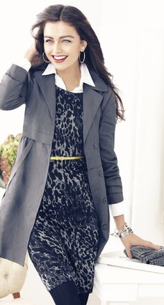 Interview ready. Patterns and animal prints are fine for professional wear as long as they are more subdued. You want your interviewer to remember you for your interview and not your crazy outfit.