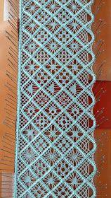 Tatting Jewelry, Tatting Lace, Bobbin Lace Patterns, Weaving Patterns, Bobbin Lacemaking, Hairpin Lace, Point Lace, Lace Scarf, Lace Making