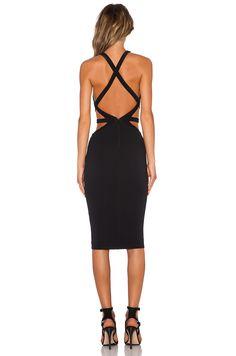 Nookie Crawford Bodycon Dress in Black   REVOLVE