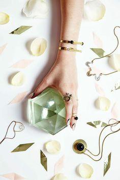"""Cities in Dust"" jewellery by designer Meghan Lorenz"