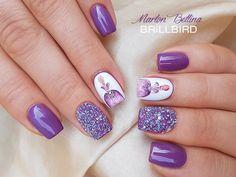 Crystal Pixie Swarovski - Cute Mood - Unghii False - BrillBird