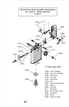 Table lighters collectors' guide: Lighter Repair Manual