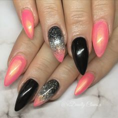 Nail art gel nails acrylic nails nail designs long nails sexy nails spring nails almond nails pointed nails deadly claws stiletto nails summer nails long nails