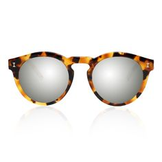 db469acce8c38 Toohey Light Tortoise with Silver Mirrored Lenses   illesteva Óculos De Sol  Feminino, Moda Outono