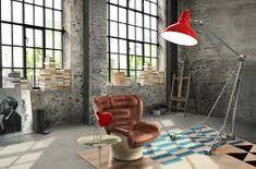 design trends 2021 - Google Search Industrial Interior Design, Vintage Industrial Decor, Industrial Living, Industrial Interiors, Industrial Loft, Modern Interiors, Industrial Bedroom, Kitchen Industrial, Industrial Wallpaper