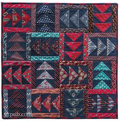 From: Necktie Quilts Reinvented by Christine Copenhaver; C&T Publishing webisite