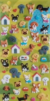 stickers cani kawaii