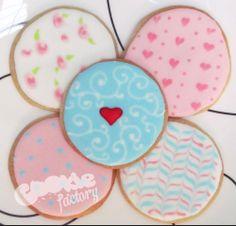 Galletas decoradas para decir te quiero