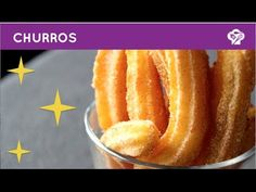 ▶ FOODGLOSS - Churros - YouTube