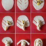 Değişik Poğaça Şekilleri Yapılışı 54 Bread Shaping, Plastic Cutting Board, Food And Drink, Shapes, Baking, Kuchen, Bakken, Backen, Sweets
