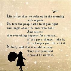 Life is too short!