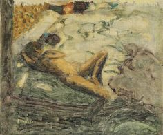 Pierre Bonnard - Avant-Projet Pour L'Indolente Pierre Bonnard, Painting, Art, Paintings, Art Background, Painting Art, Kunst, Drawings, Art Education