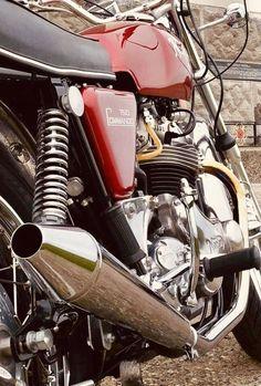 Classic Bikes, Classic Motorcycle, Norton Motorcycle, Norton Commando, Cb750, Old Bikes, Vintage Motorcycles, Sport Bikes, Motorbikes