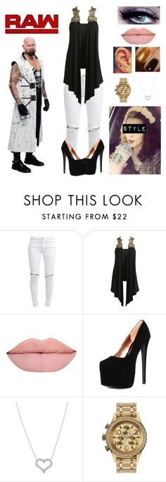 """""""Time Of The Month-Luke Gallows"""" by queenreigns-916 ❤ liked on Polyvore featuring FiveUnits, Arden B., Tiffany & Co., Nixon and WWE"""