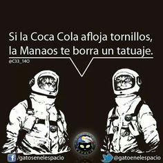 Gatos en el espacio Coca Cola, Clap Clap, Instagram Images, Instagram Posts, Happy Smile, Joker, Memes, Funny, Movie Posters