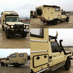 Pickup Camper, Truck Camper, Camper Trailers, Campers, Toyota Motorhome, Toyota Camper, Pick Up, Overland Truck, Travel Camper