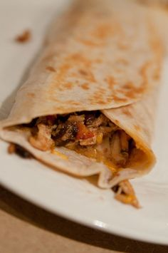 Crispy Southwest Chicken Wrap