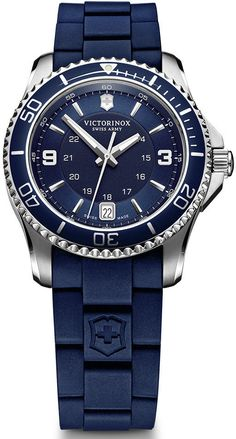 Victorinox Swiss Army Watch Maverick Small #bezel-unidirectional #bracelet-strap-rubber #brand-victorinox-swiss-army #case-material-steel #case-width-33mm #classic #date-yes #delivery-timescale-call-us #dial-colour-blue #gender-ladies #movement-quartz-battery #official-stockist-for-victorinox-swiss-army-watches #packaging-victorinox-swiss-army-watch-packaging #style-sports #subcat-maverick #supplier-model-no-241610 #warranty-victorinox-swiss-army-official-3-year-guarantee…