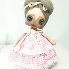Muñeca de tela carol