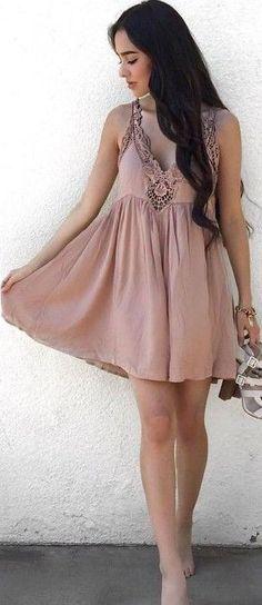 #summer #lulus #fashion  Dusty Pink + Breezy