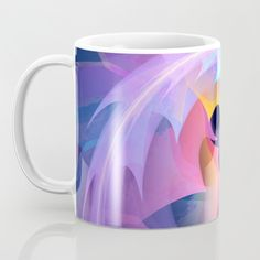 Buy Cyclone of feelings, colourful fractal abstract Mug by thea walstra. Worldwide shipping available at Society6.com. Just one of millions of high quality products available.