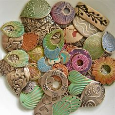 Art Jewelry Elements: All Things Considered...  components by Lesley  The Gossiping Goddess
