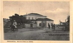 Mersin 1920 ler Sakarya caddesi Atatürk evi arkada görünmektedir. .