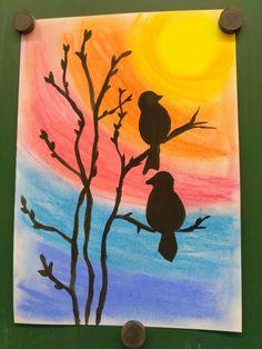 Art Drawings For Kids, Easy Drawings, Art For Kids, 5th Grade Art, Ecole Art, Spring Art, Autumn Art, Art Classroom, Art Club