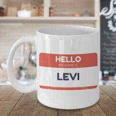 Hello my name is/Hello my name is Levi/Hello my name by MUGalish