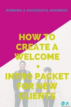 Welcome packet new clients including free welcome packet template