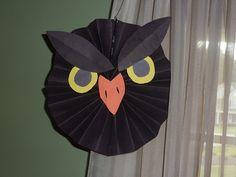 Decoração Divertida de Halloween com Dobradura
