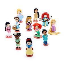 Disney Animator's Collection Deluxe Figurines, Set of 11
