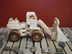 ... free wood toy truck patterns
