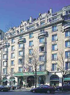 Hôtel prince de Galles Paris 1928 André Arfvidson